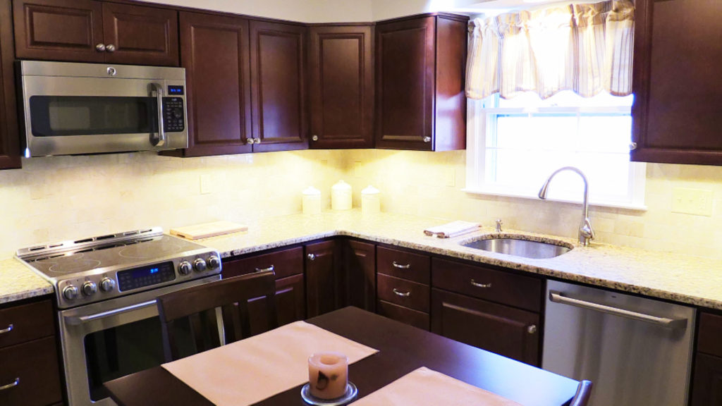 Kitchen remodeling project ellicott city kitchen for Flooring contractor columbia md