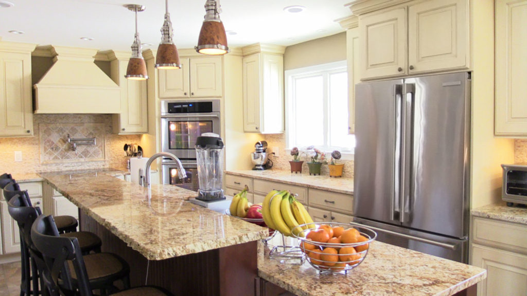 Monrovia kitchen remodel kitchen cabinets gaithersburg md for Flooring contractor columbia md