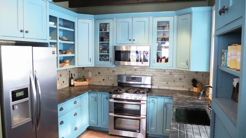 Severna Park Kitchen Remodel Painted Cabinets Annapolis