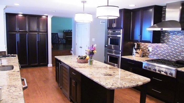 Home Office   Cherry Cabinets   Gaithersburg MD