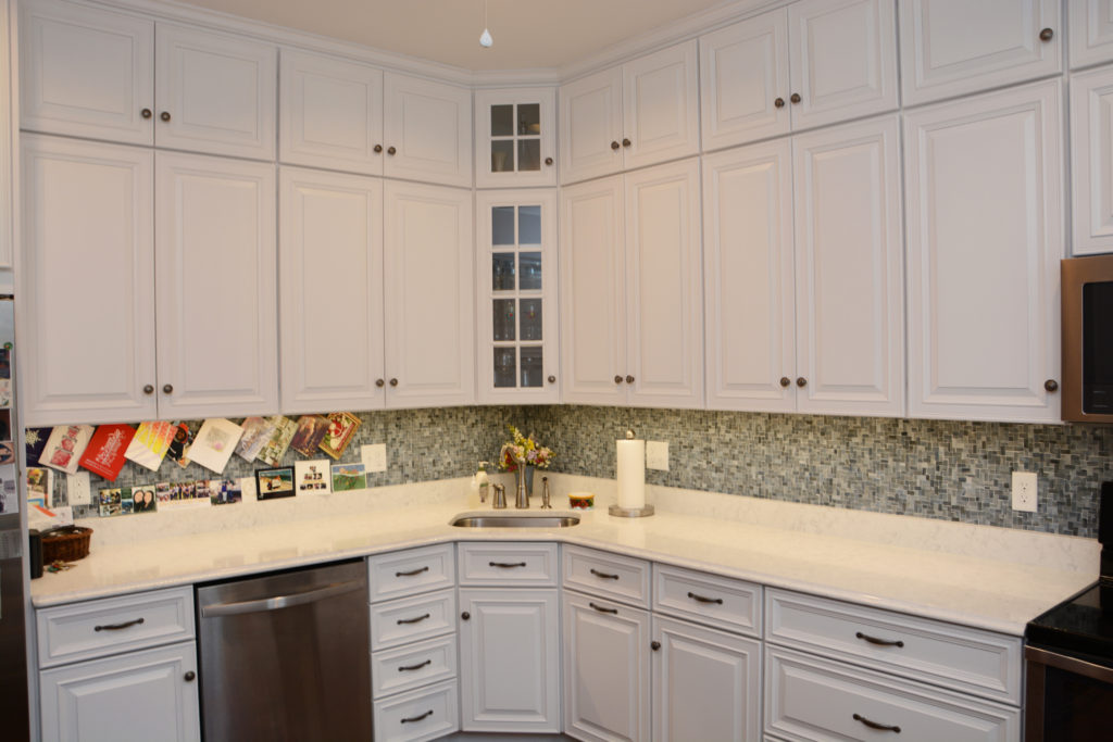 white cabinets washington dc transitional cabinetry for a kitchen in washington dc