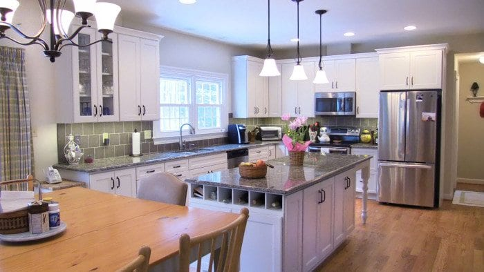 Annapolis Kitchen White Cabinets