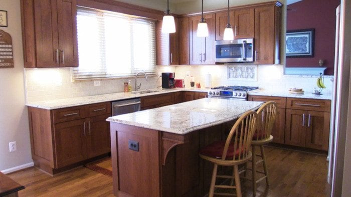Kitchen Remodel in Chantilly VA by Cabinet Discounters