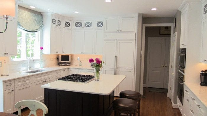 Annapolis White Kitchen Remodel
